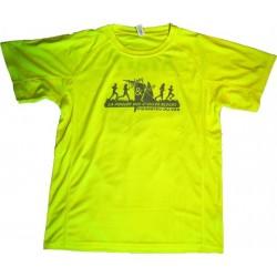 Tshirt FEMME Jaune fluo...